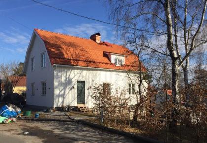 Terserusvägen 30, Bromma – Nytt hus
